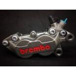Heo Brembo P4 4Piston đối xứng logo đỏ