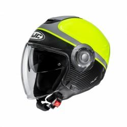 HJC i40 Semi-Jet Urban 3/4 Helmet (Wirox)