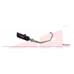 R9 Exhaust Misano BLACK for HONDA WINNER 150