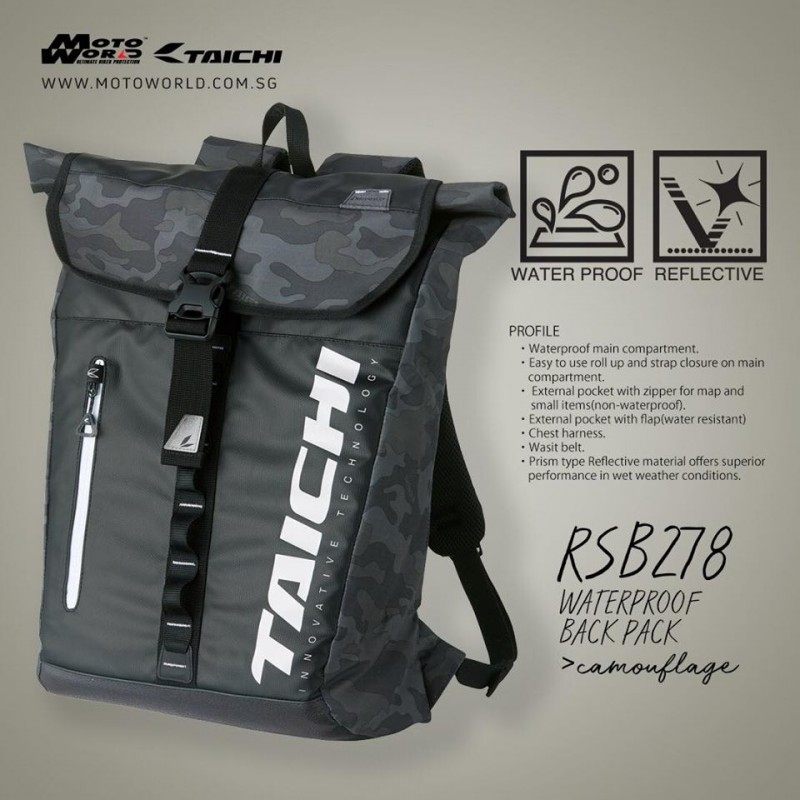 RS Taichi RSB278 Waterproof Back Pack
