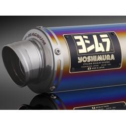 YOSHIMURA FULL SYSTEM PCX GP-MAGNUM (TITAN BLUE COVER)