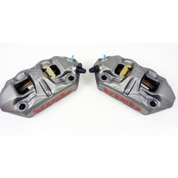 BREMBO 100mm M4 Monoblock Front Radial Cast 34/34 Caliper Set