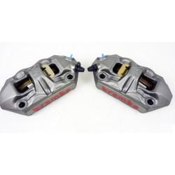 BREMBO 100mm M4 Monoblock Front Radial Cast 34/34 Caliper Set