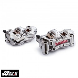 BREMBO 108mm GP4 RX Nickel Brake Caliper Kit