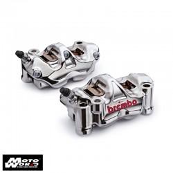 BREMBO 100mm GP4 RX Nickel Brake Caliper Kit