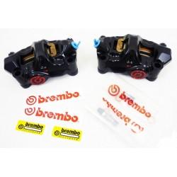 BREMBO Front Brake Calipers - 100mm Billet 484 Caliper Set