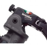 BREMBO 15RCS Forged Radial Brake Master Cylinder with Folding Short Lever