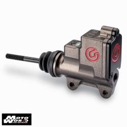BREMBO 13mm Billet Race Rear Master with Integrated Reservoir MotoGP-WSBK (Red Logo)