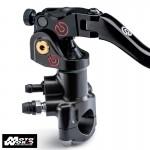 BREMBO 19x18 Billet Brake Master Cylinder with Standard Folding Lever - Moto GP