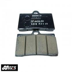 BREMBO Brake Pad Set - 107442650