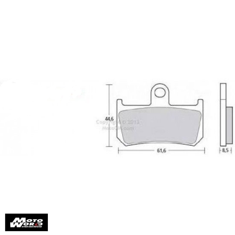 BREMBO 107A48671 Pad Kit