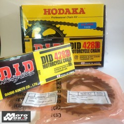 HODAKA - D.I.D Sprockets & Chain SUZUKI SMASH