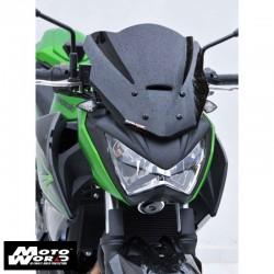 ERMAX Sport Nose Screen 30cm for Kawasaki Z300 15-16 Dark Black