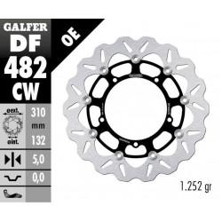 GALFER Front Brake Disc YAMAHA YZF-R6 2015