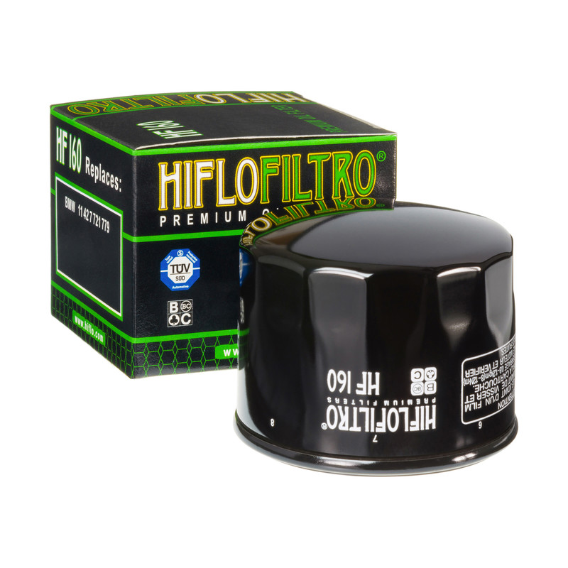 Hiflo Oil Filter HF 160 for BMW