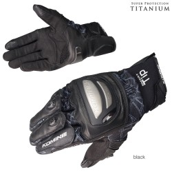 Komine GK 214 Titanium M-Gloves