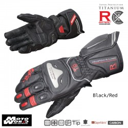 Komine GK 169 Titanium Racing Gloves Julius