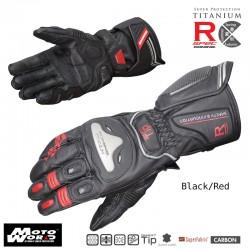Komine GK 169 Titanium Racing Gloves Julius