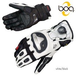 Komine GK 166 Titanium Sports Gloves-Boa