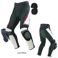 Komine PK 717 Sports Riding Leather Mesh Pant
