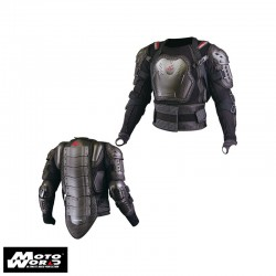 Komine SK 622 Black Full Armored Body Jacket