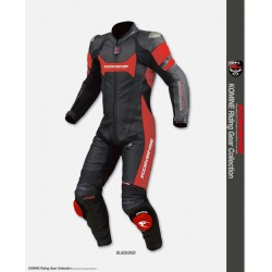 Komine S 47 Titanium Leather Suit GUPTA