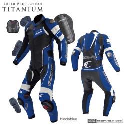 Komine S 49 Titanium Leather Suit RAPHAEL