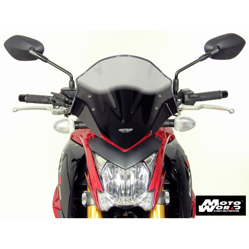 MRA Racing Windscreen NRM for SUZUKI GSX-S1000 14 - Smoke Grey