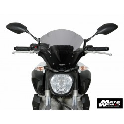 MRA Racing Windscreen NRM for YAMAHA MT-07 14-17 - Smoke Grey