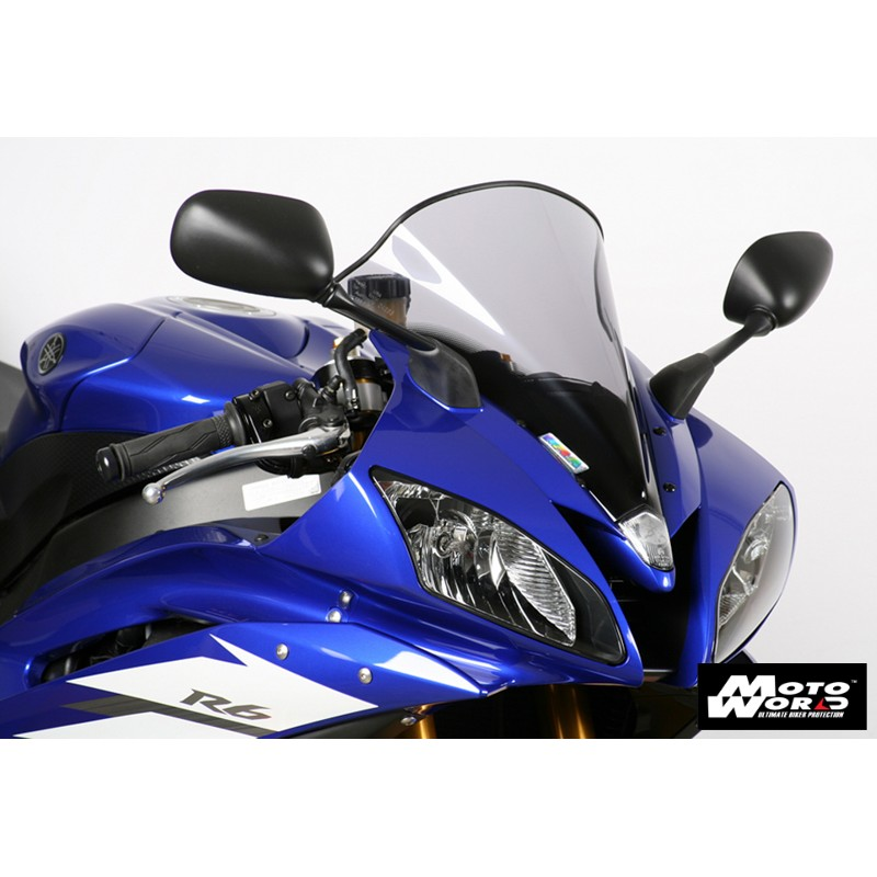 MRA Racing Windscreen R for YAMAHA YZF R6 06-07 - Smoke Grey