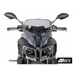 MRA Spoiler Windscreen NS for YAMAHA MT-10 16 - Smoke Grey