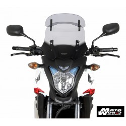 MRA Vario Touring Windscreen VT for HONDA CB 500X 13-15 - Smoke Grey