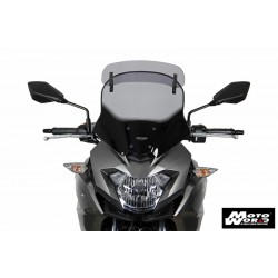 MRA Vario Touring Windscreen VT for KAWASAKI Versys X 250/300 17 - Smoke Grey