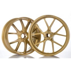 MARCHESINI Forged Aluminum M10RS Gold Anodised DUCATI-1098-1198-821-848-939-1200 - Front Wheel