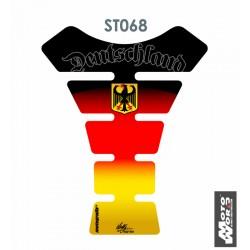 MOTOGRAFIX Tank Pad Protector 3D Gel German Tricolour