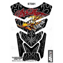 MOTOGRAFIX Tank Pad Protector 3D Gel Mr Meaner Clay Smith Cams Style Replica