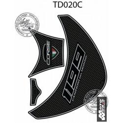MOTOGRAFIX Carbon Tank Pad Protector 3D Gel DUCATI PANIGALE 1199 12-15