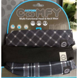 Oxford Comfy Black/ White/ Tartan - 3 Pack