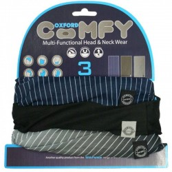 Oxford Comfy Pinstripe - 3 Pack