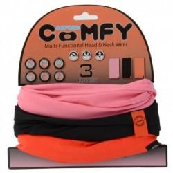 Oxford Comfy Pink/Black/Red - 3 Pack