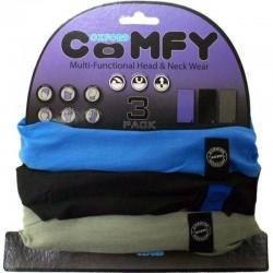 Oxford Comfy Blue/Black/Grey - 3 Pack