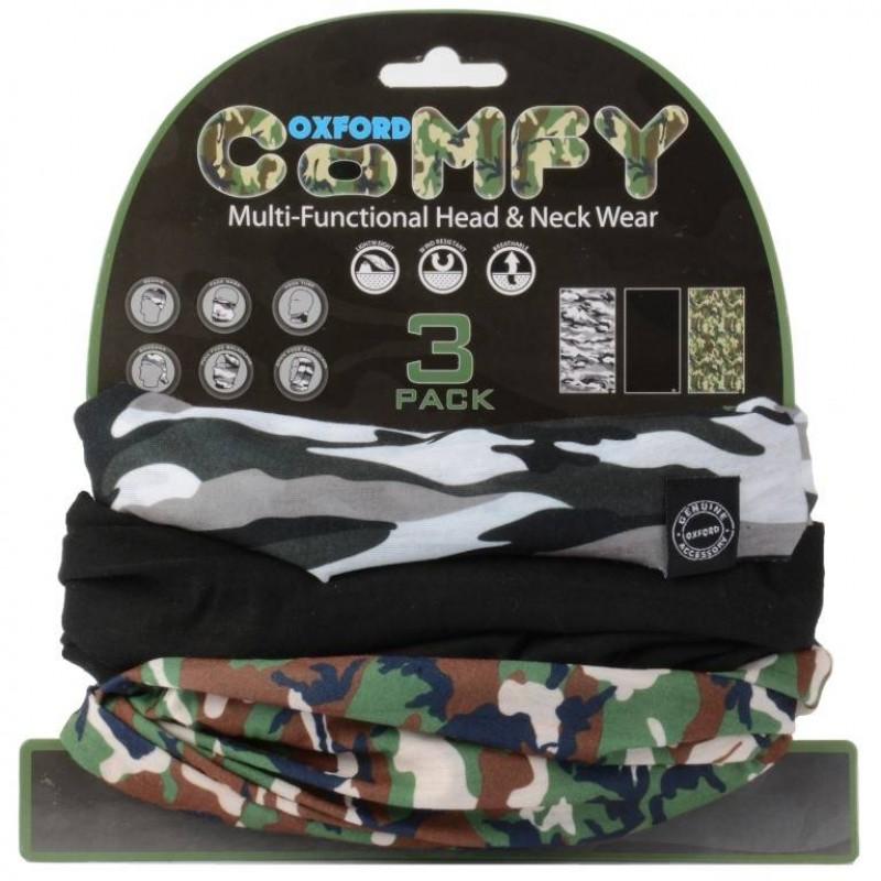 Oxford Comfy Camo - 3 Pack