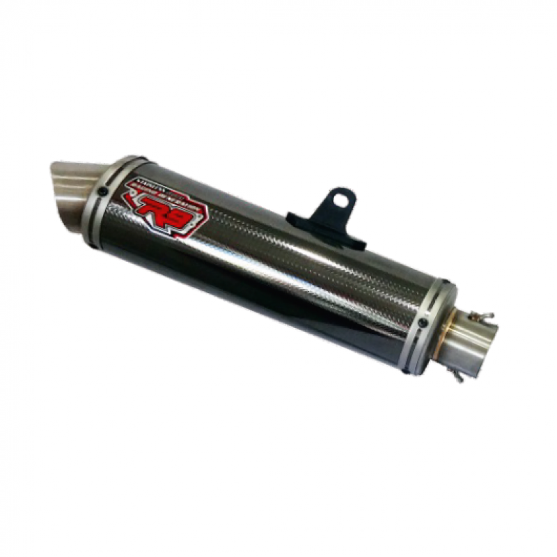 R9 Exhaust New Mugello BLACK for YAMAHA EXCITER 150