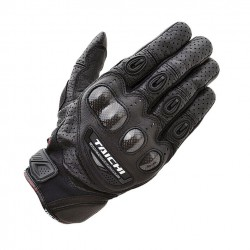 RS-Taichi VELOCITY LEATHER MESH CARBON GLOVE - RST401