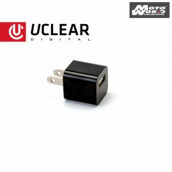 UCLEAR AC Wall Charger – For Bluetooth Helmet Audio Systems