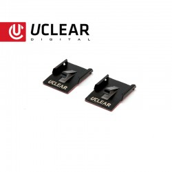 UCLEAR Permanent Mounting Clip For Bluetooth Helmet Audio Systems